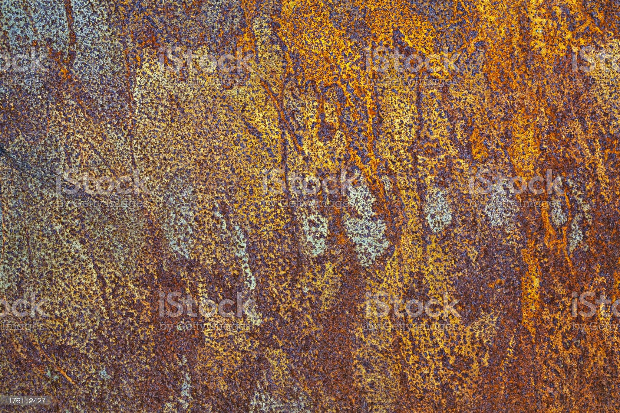 corroded iron royalty-free stock photo