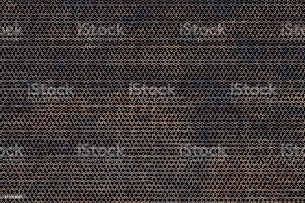 Corroded Metal stock photo