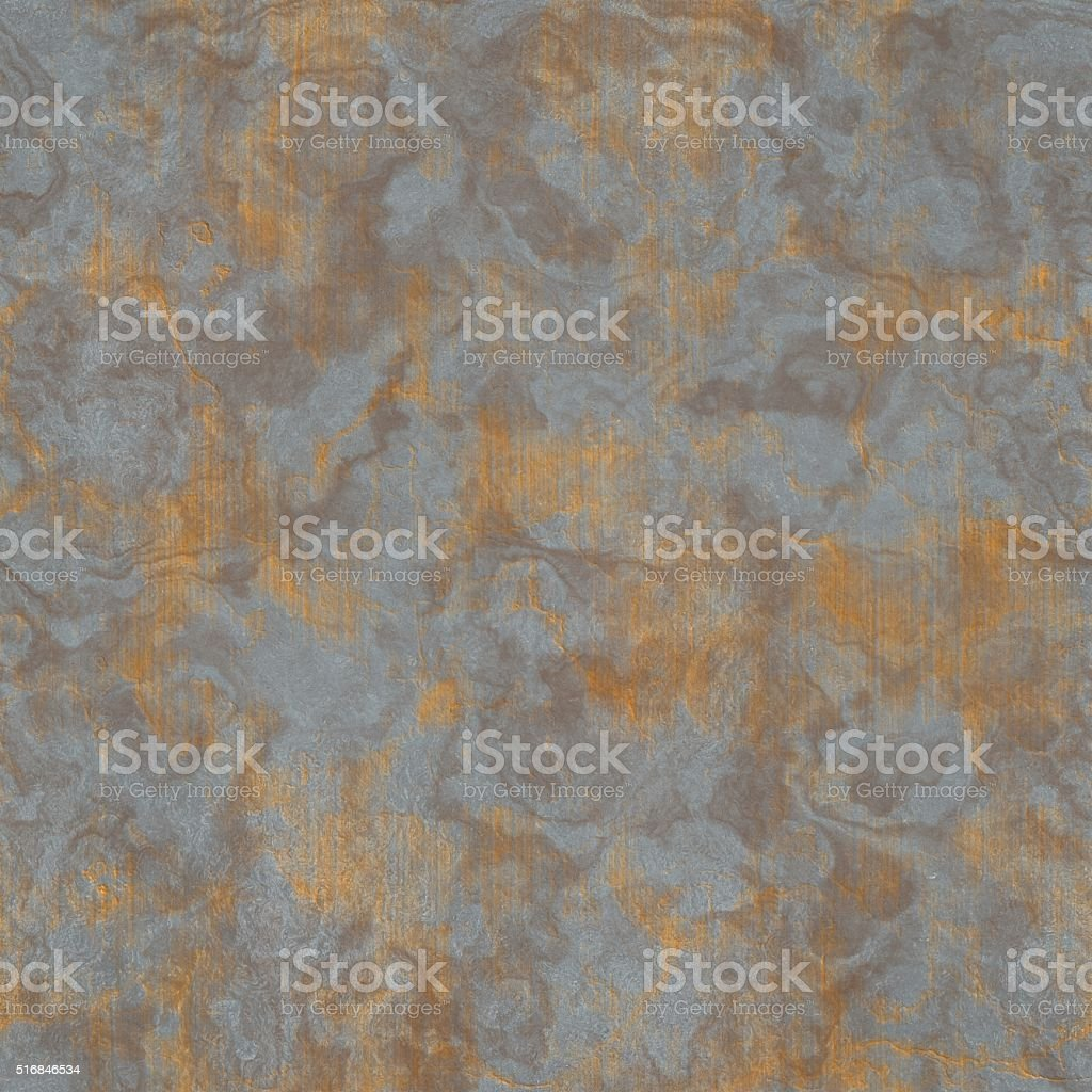 corroded metal texture generated. Seamless pattern. stock photo