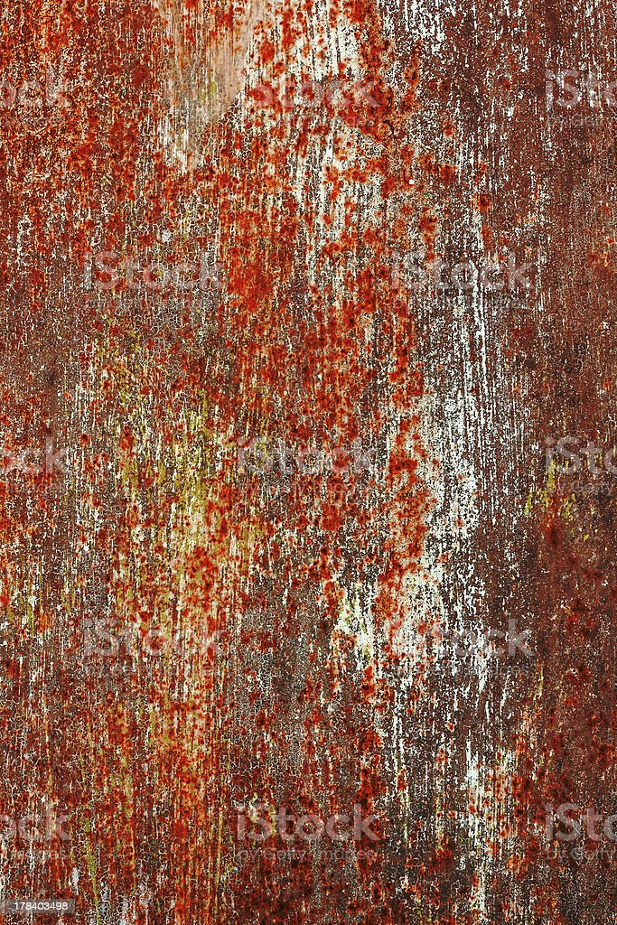 Corrosion painted metal background royalty-free stock photo