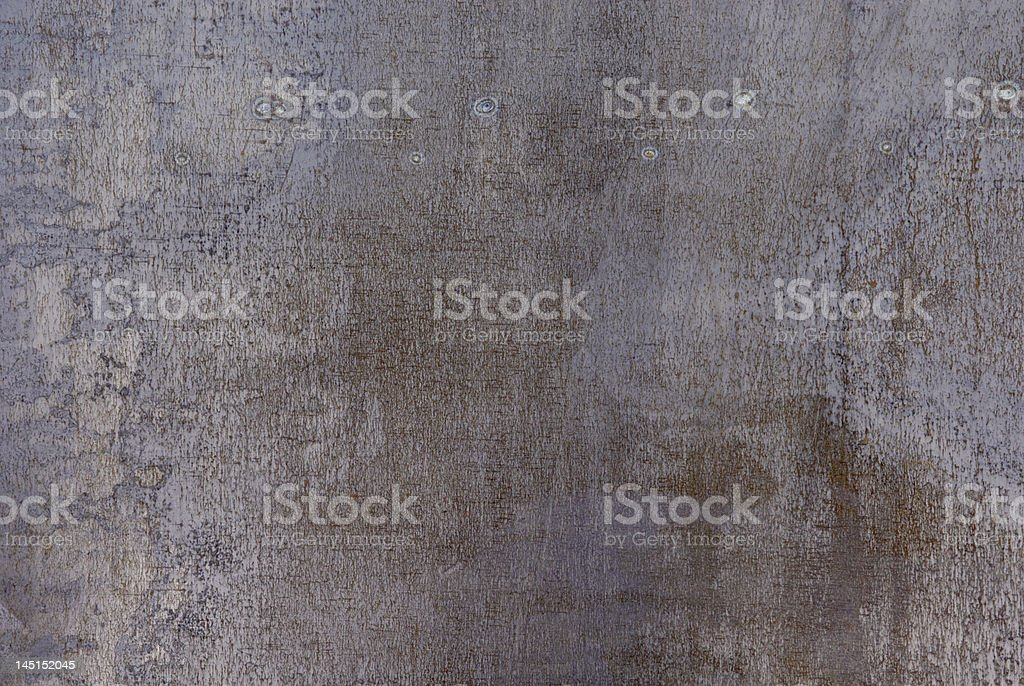 Corrosive metal stock photo