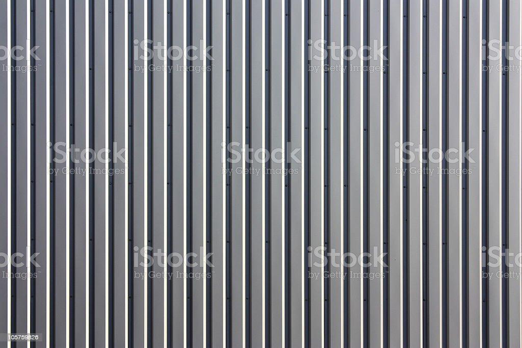 Corrugated aluminium royalty-free stock photo