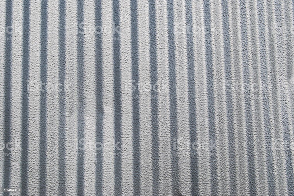 Corrugated Aluminum Background royalty-free stock photo