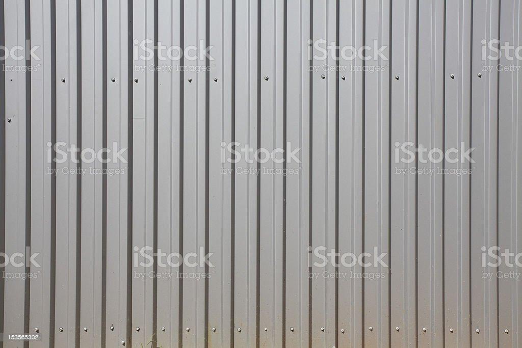 corrugated aluminum stock photo