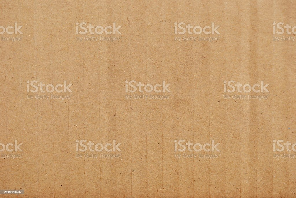 Corrugated Card Texture stock photo