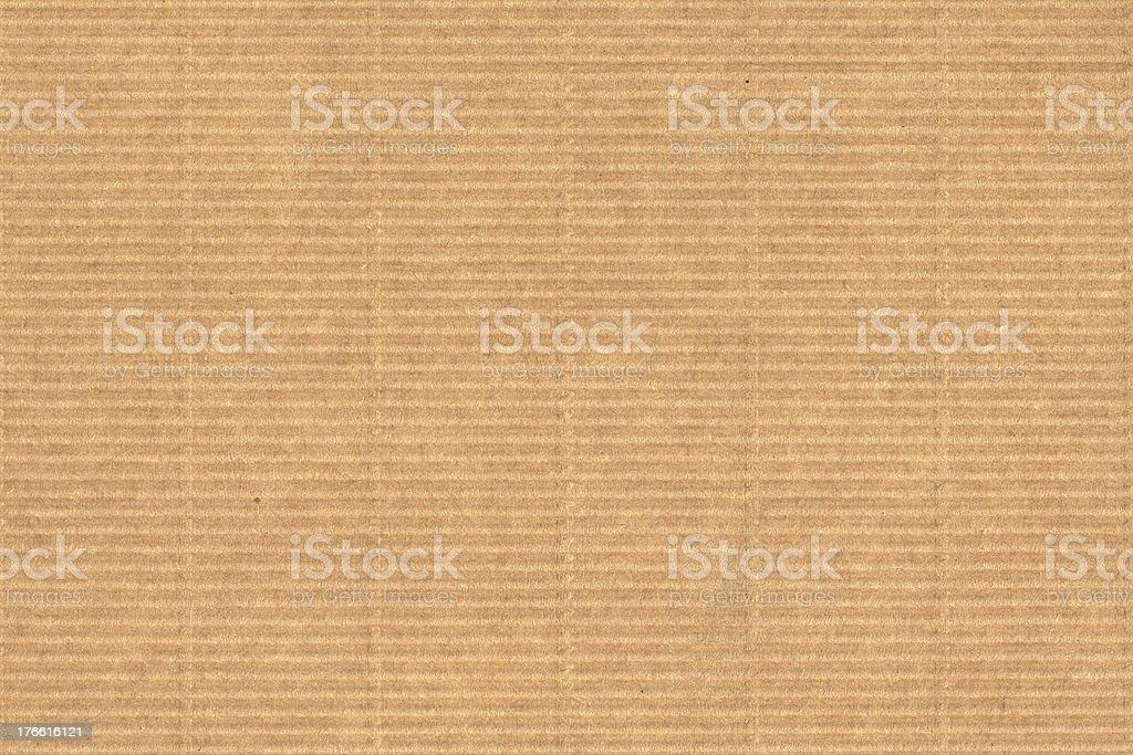 Corrugated cardboard background royalty-free stock photo
