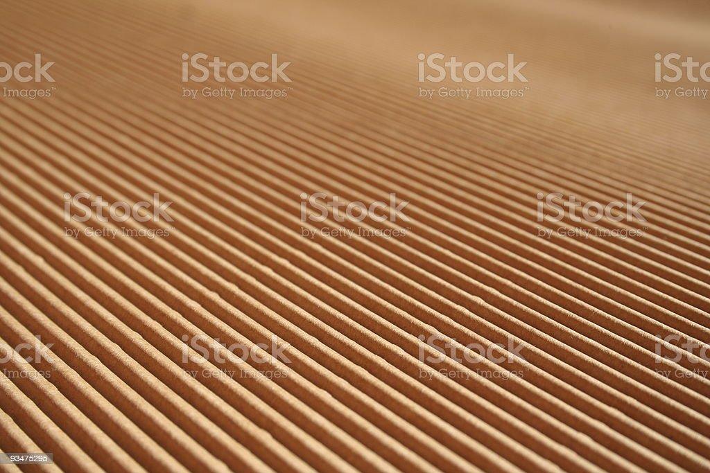 Corrugated cardboard diagonal stock photo