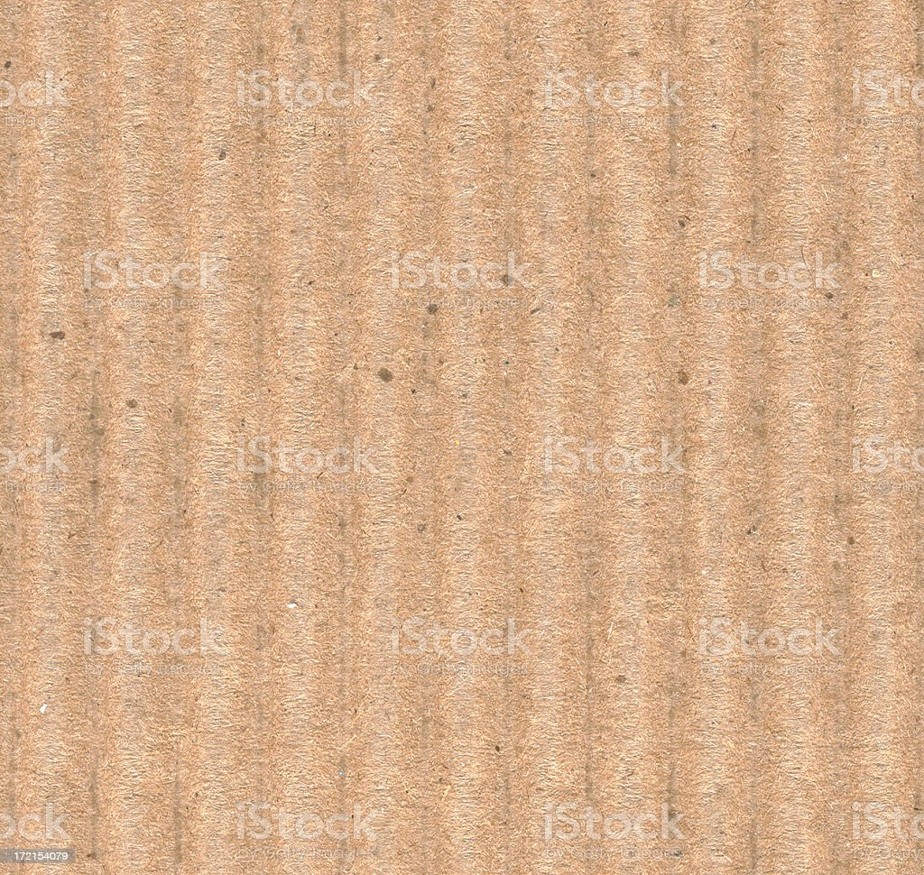 Corrugated Cardboard stock photo