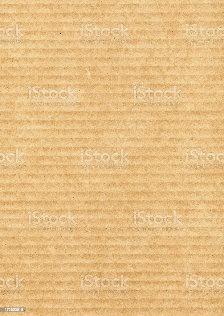 Corrugated Cardboard royalty-free stock photo