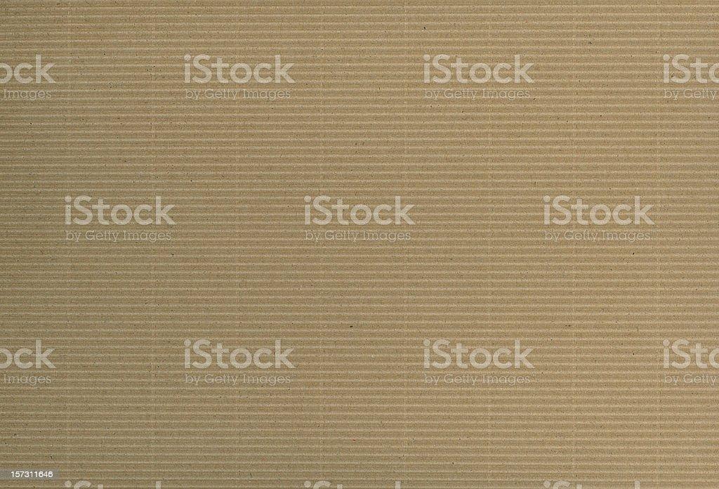 Corrugated cardboard XXL royalty-free stock photo