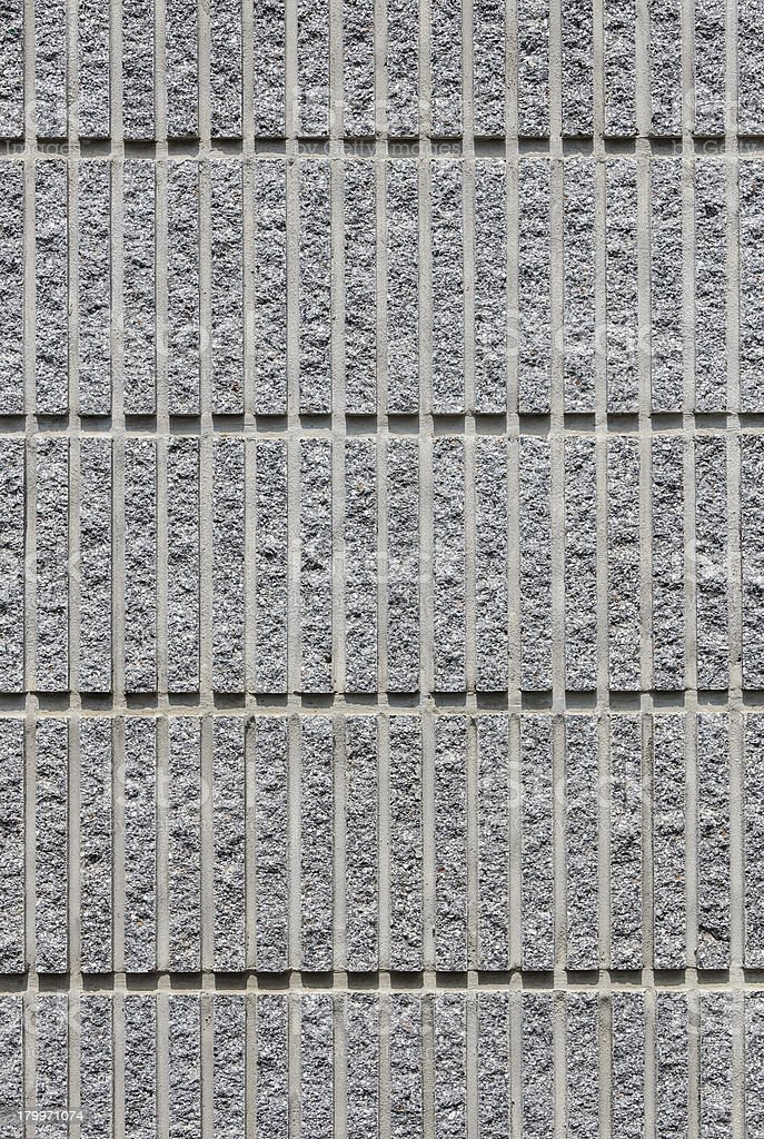 Corrugated Concrete Pattern Background royalty-free stock photo