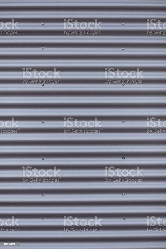 Corrugated Iron background stock photo