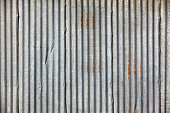 Corrugated iron frame background with lines