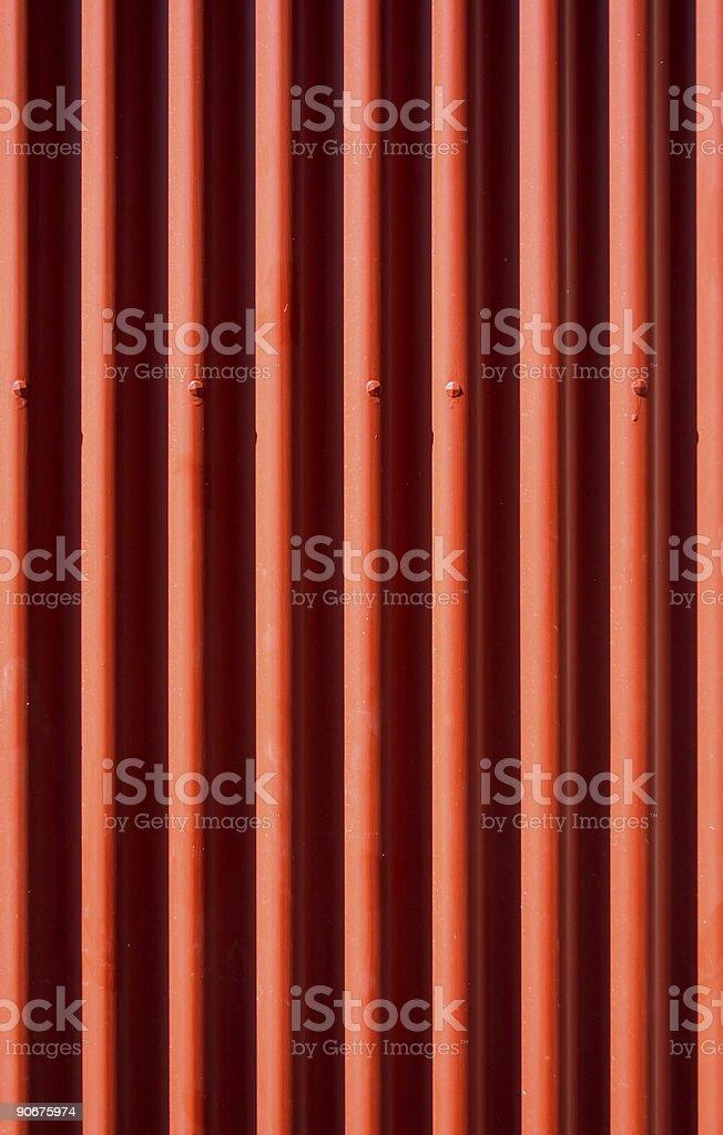 Corrugated iron royalty-free stock photo