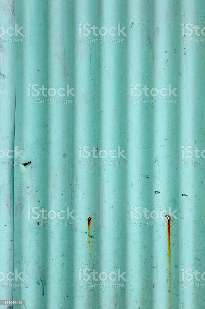 Corrugated metal background. royalty-free stock photo
