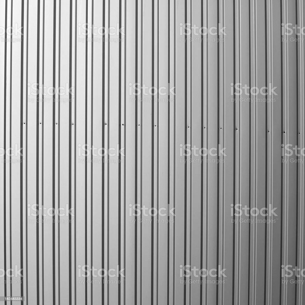 Corrugated metal background royalty-free stock photo