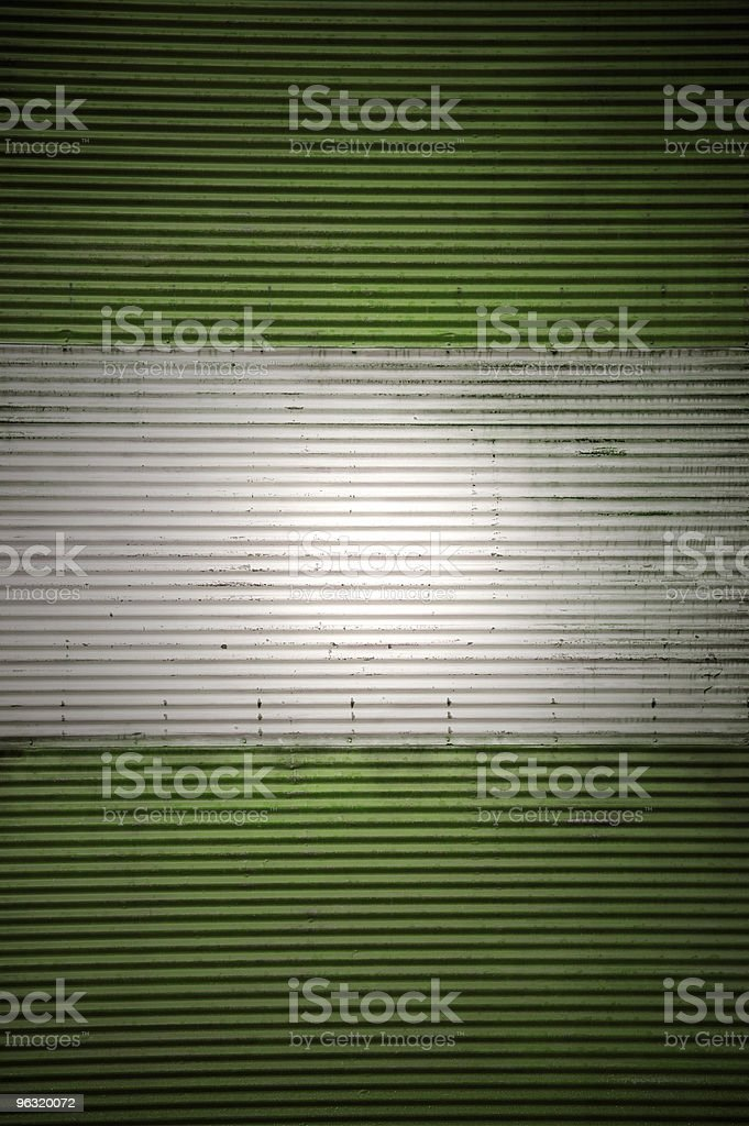 corrugated metal background royalty-free stock photo