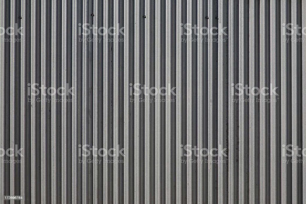Corrugated Metal royalty-free stock photo