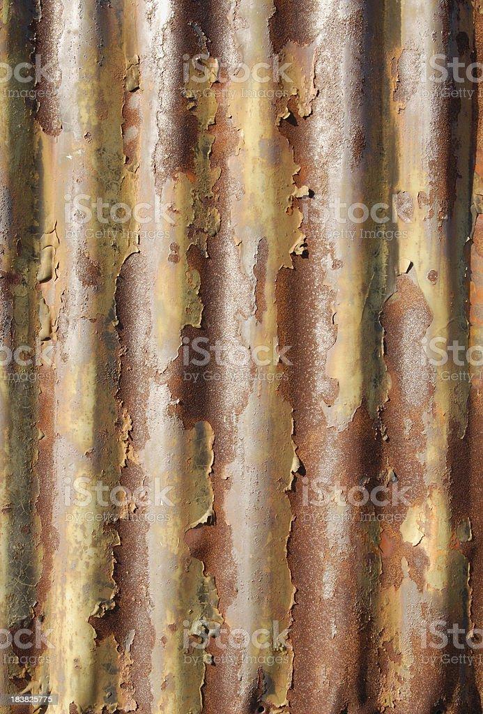 Corrugated Metal royalty-free stock photo