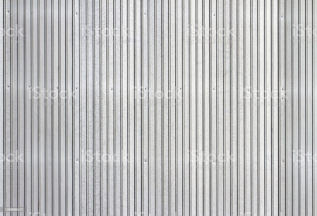 Corrugated metal siding vertical background royalty-free stock photo