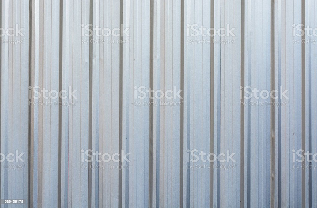 Corrugated metal texture wall background stock photo
