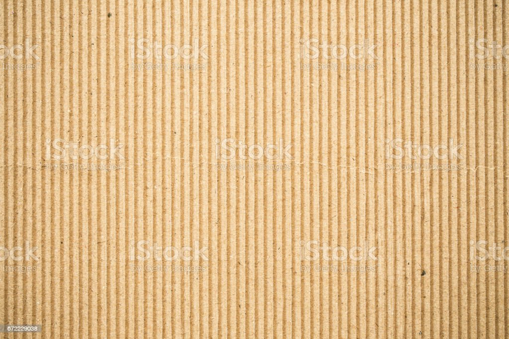 Corrugated paper abstract texture background stock photo