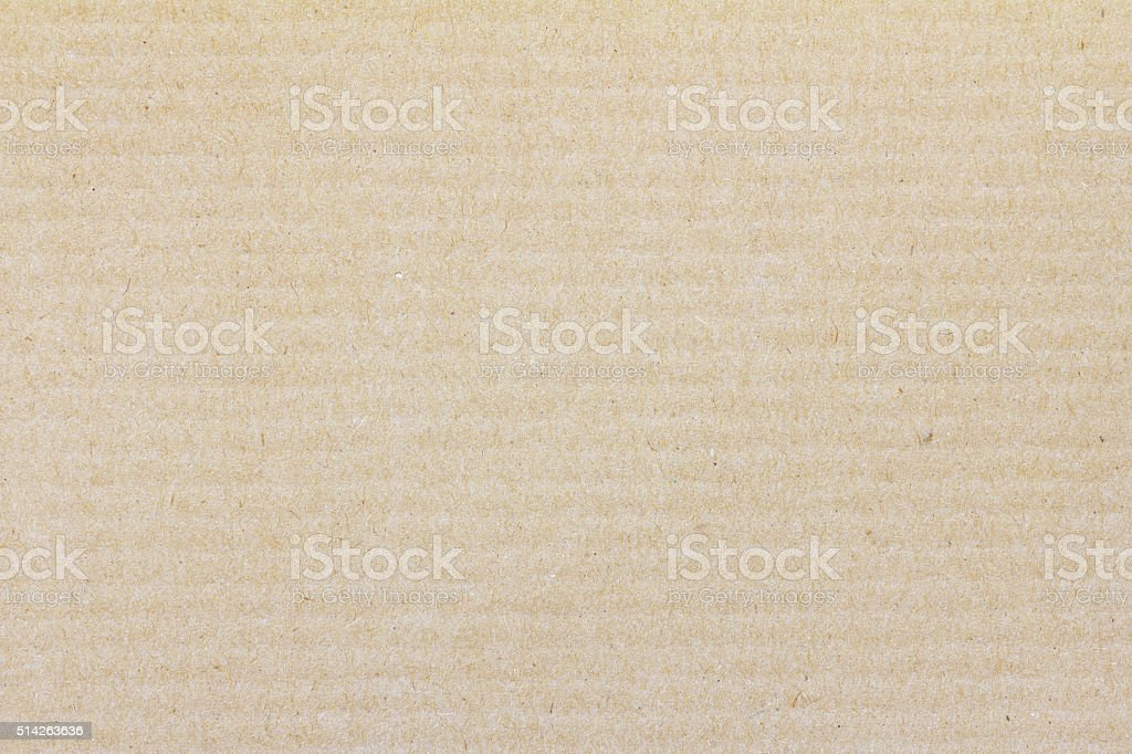Corrugated Paper Texture for background and design. stock photo