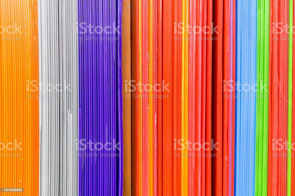 corrugated plastic stock photo
