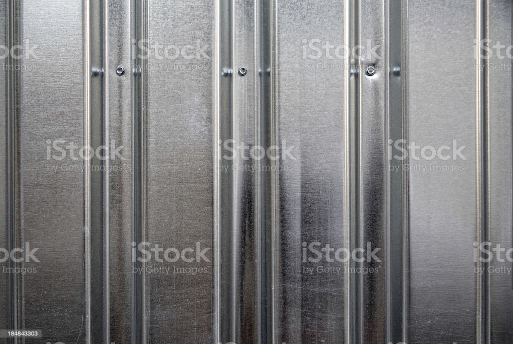 Corrugated steel Background royalty-free stock photo