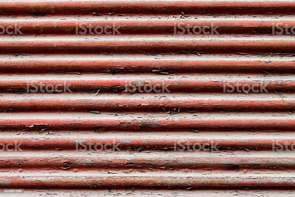 Corrugated vintage background stock photo