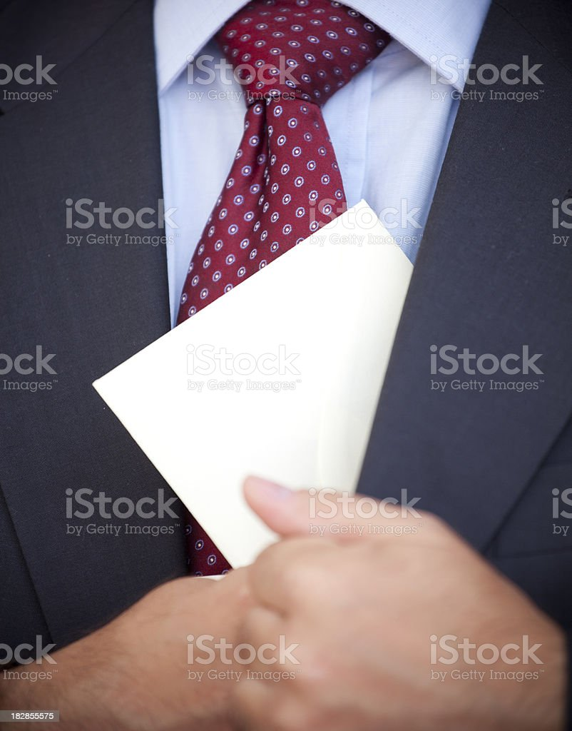 Corruption - Indecent Proposal royalty-free stock photo