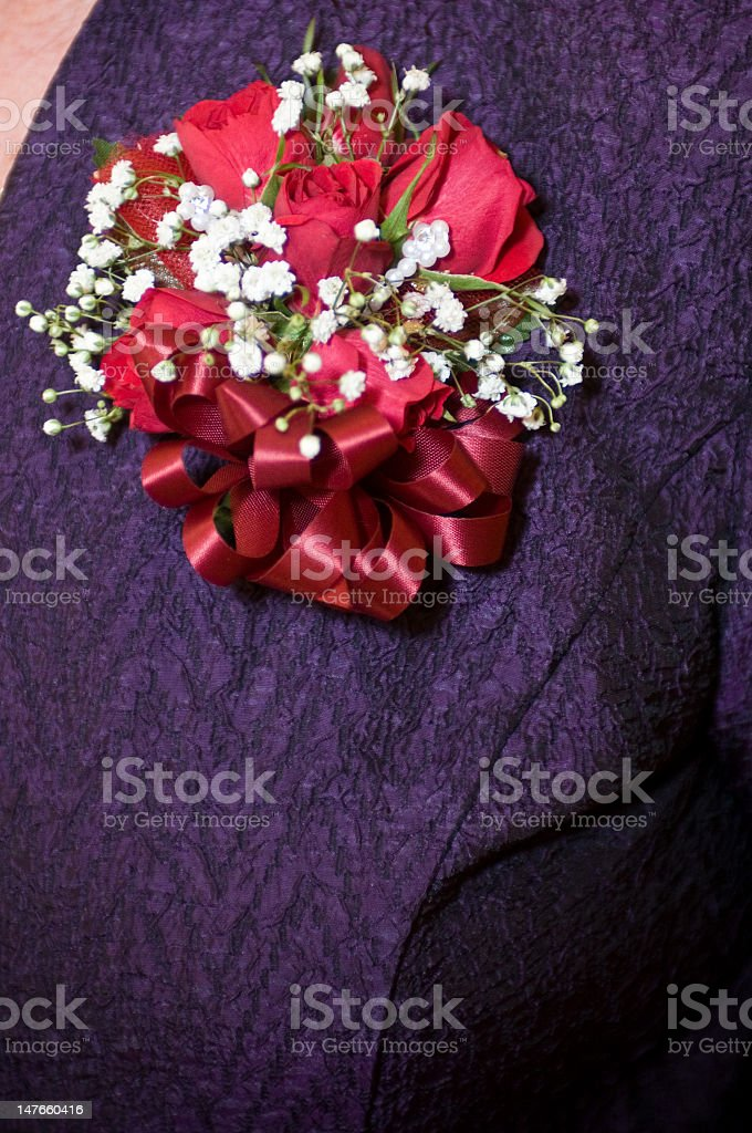 Corsage royalty-free stock photo