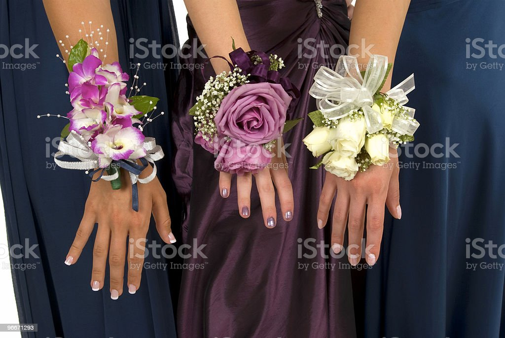 Corsages stock photo