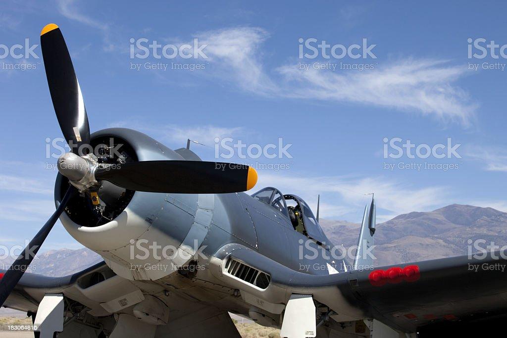 Corsair F4U stock photo