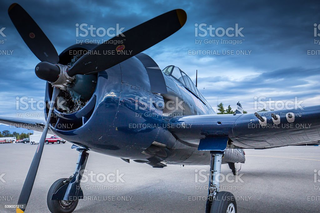 F4 Corsair stock photo