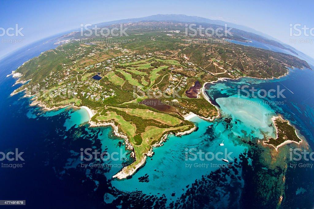 Corsica Aerial stock photo
