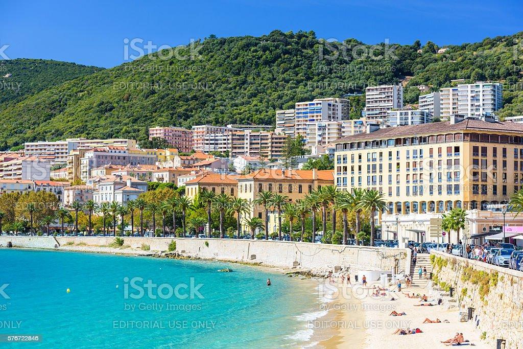 Corsica France Beach stock photo