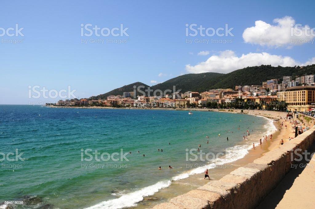 Corsica stock photo