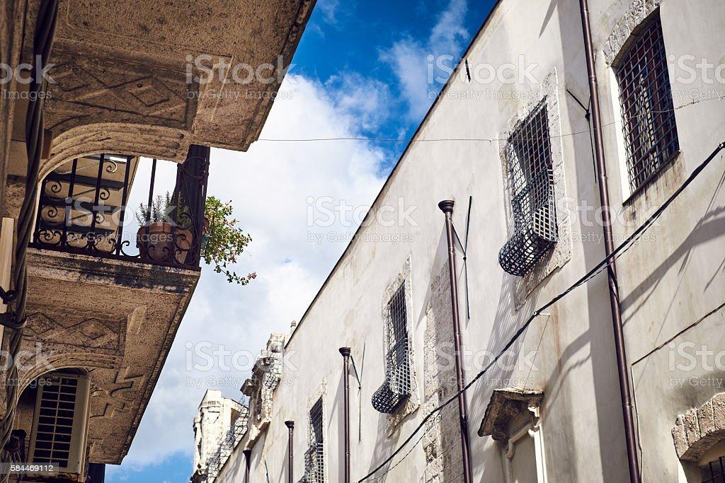 Corso VI Aprile, Alcamo's High Street stock photo