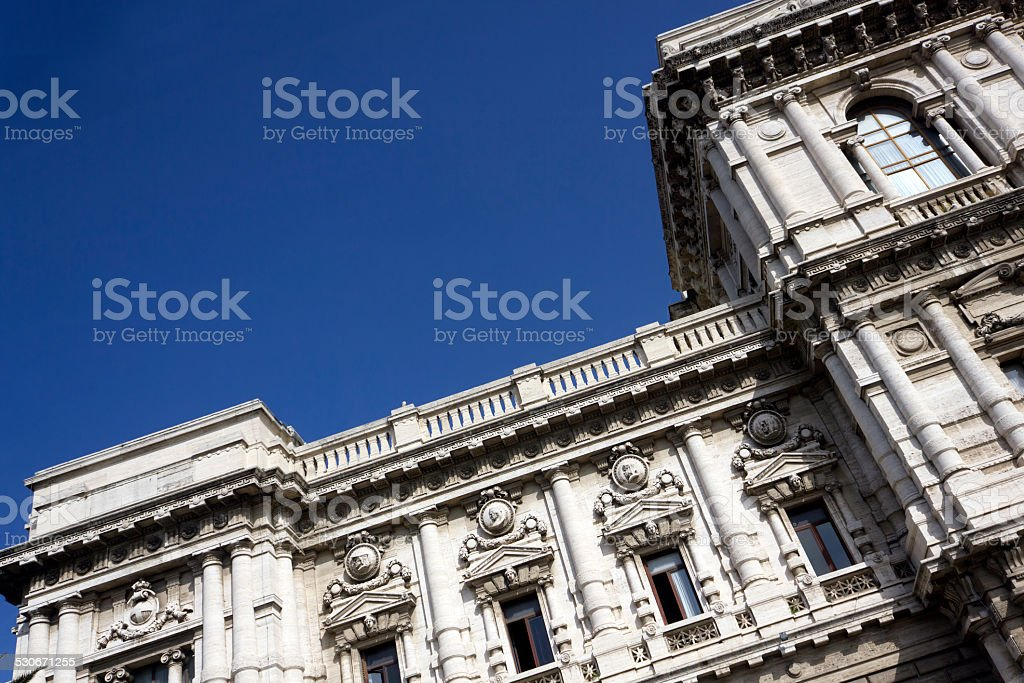 Corte Suprema di Cassazione in Rome, Italy stock photo