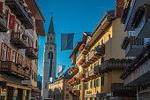 Cortina d'Ampezzo in Dolomites Italian Alps