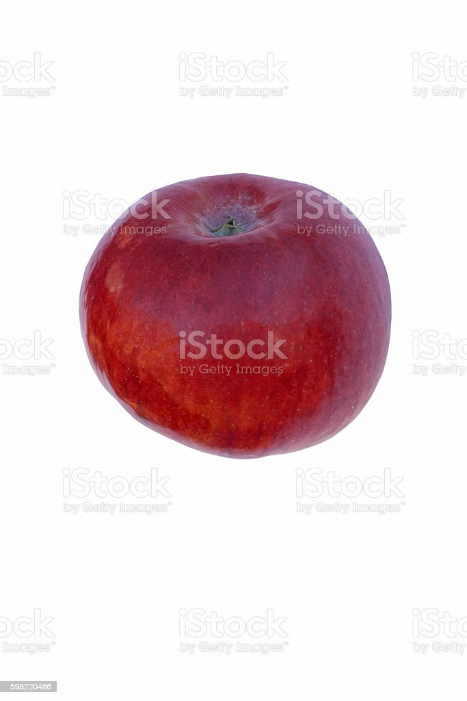 Cortland apple stock photo
