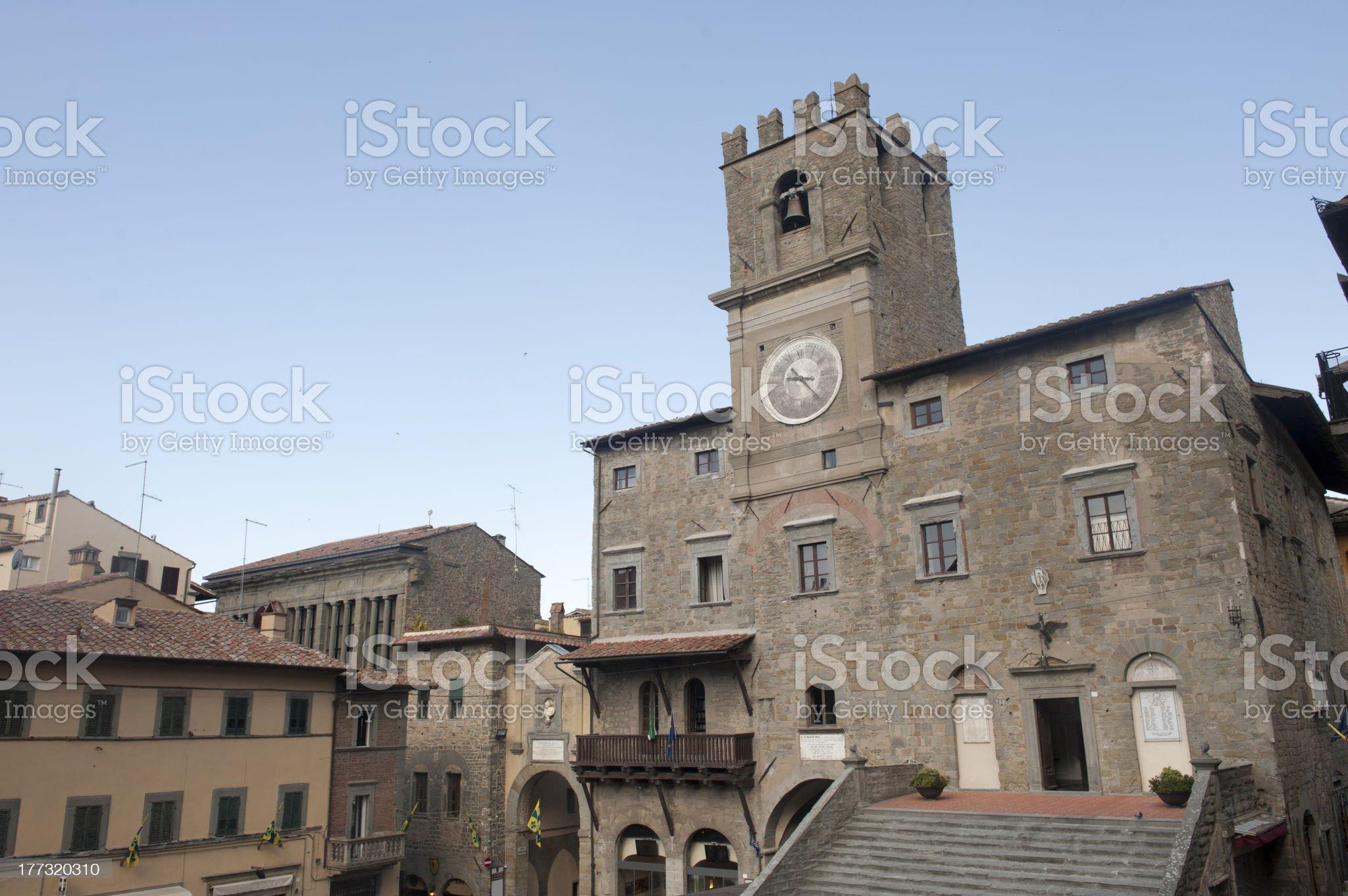 Cortona (Arezzo) royalty-free stock photo