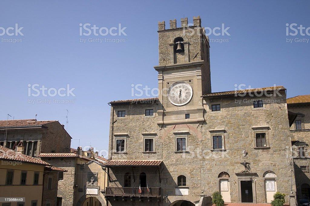 Cortona Tuscany stock photo
