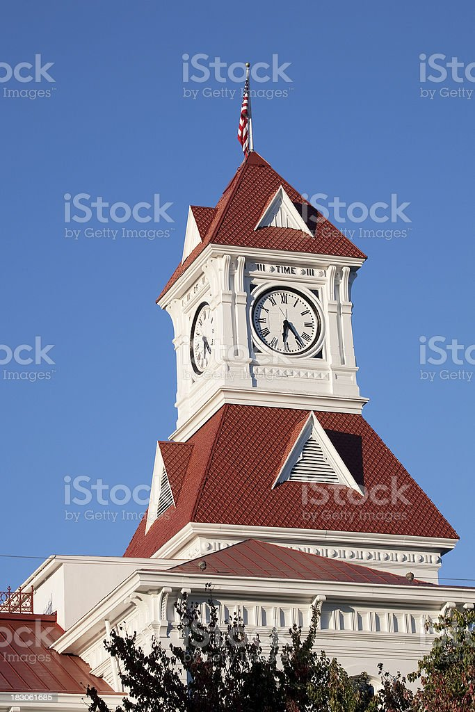 Corvallis Courthouse stock photo
