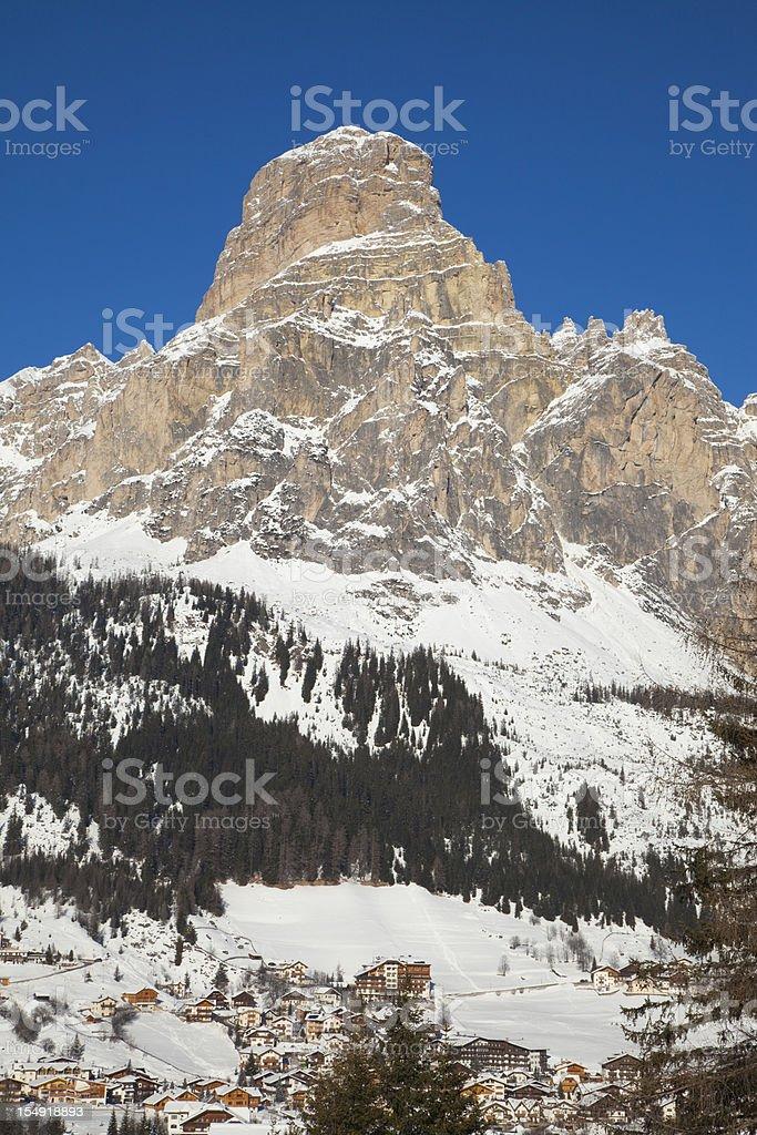 Corvara, Alta Badia, Dolomites stock photo