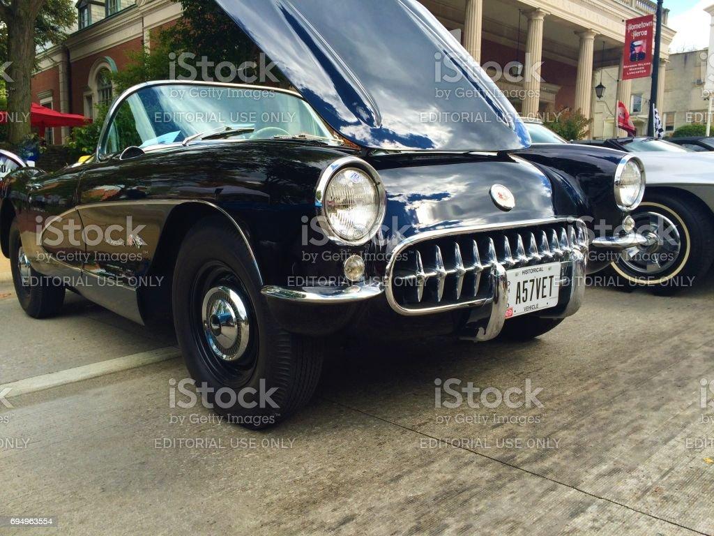 Corvette car stock photo