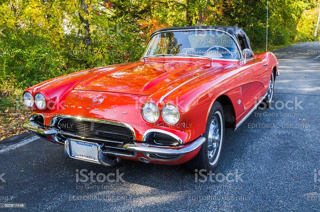 1962 Corvette Convertible stock photo