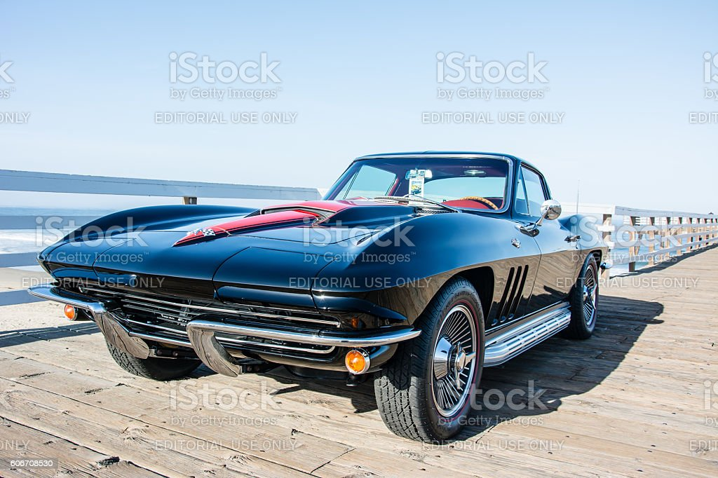 1967 Corvette stock photo