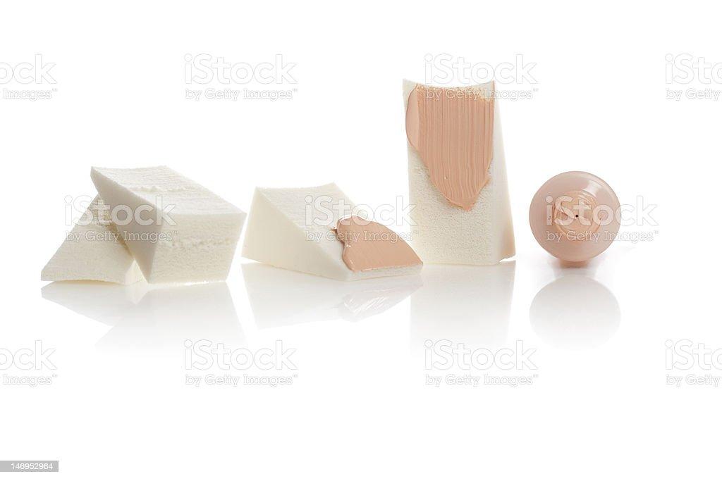 cosmetic accessories stock photo